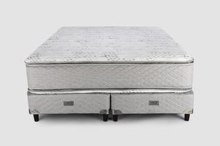 Sommier Piero Montreaux Pillow Top 200 X 160 Queen Resortes