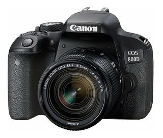 Cámara Canon Eos 800d/t7i + Estuche Original Canon 100es
