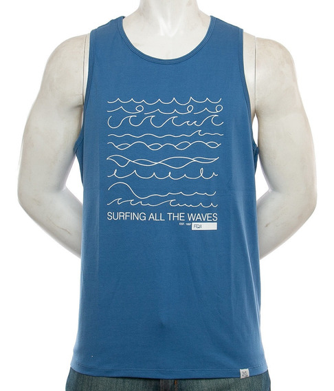 Musculosa Waves Fidji Fidji Tienda Oficial
