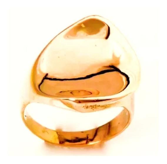Anel Feminino Ouro 18k Super Design + Porta Joias 0011