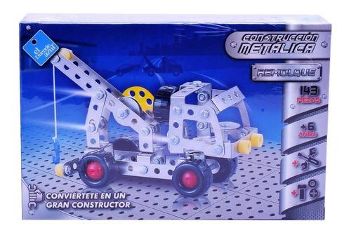 Juego Construcción Metálica Remolque 143 Pza Tipo Mecano Ful