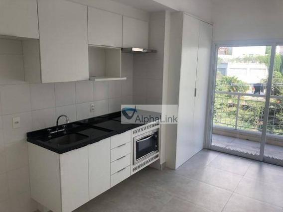 Apartamento Com 1 Dormitório Para Alugar, 50 M² Por R$ 1.900/mês - Tamboré - Santana De Parnaíba/sp - Ap1682