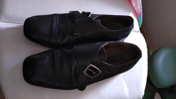 Sapato Couro Marca Democrata, Tam 40