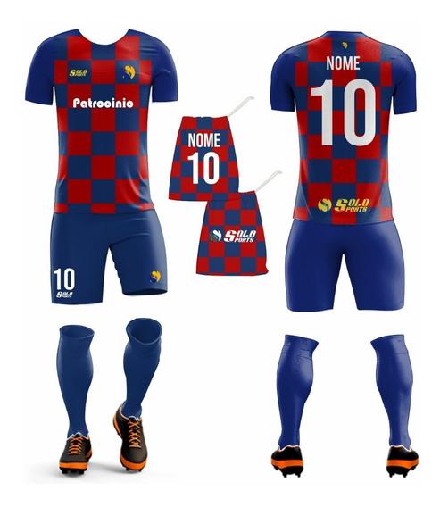 Kit Camisa Masculina E Feminina De Futebol