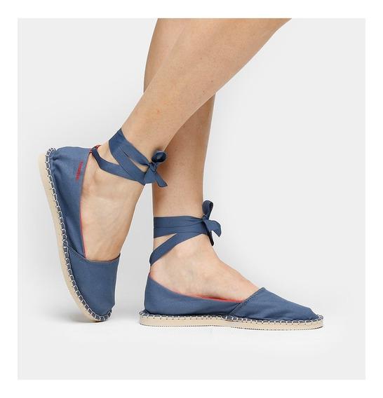 Sapatilha Alpargatas Havaianas Slim - Bailarina Azul