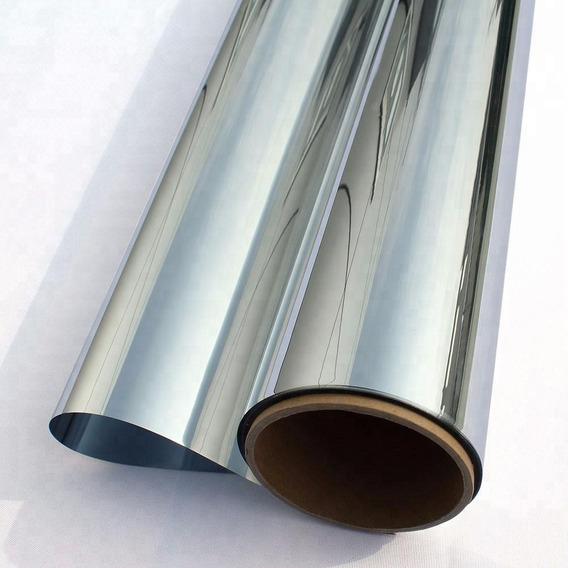 Pelicula Insulfilm Espelhado Prata 0,75x4,00m G5 Profission