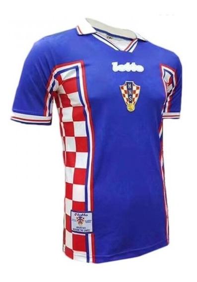 Camiseta Retro Seleccion Croacia Suplente 1998