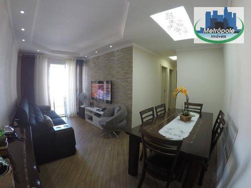 Apartamento Residencial À Venda, Centro, Guarulhos. - Ap0373
