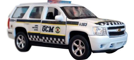 Miniatura Chevrolet Blazer Tahoe Gcm Sp - Atual