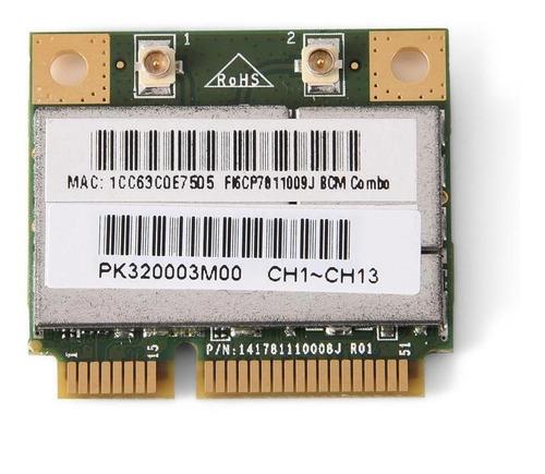 Mini Bluetooth Wifi 2 Em 1 Cartão Para Intel/ati/amd Pci-e
