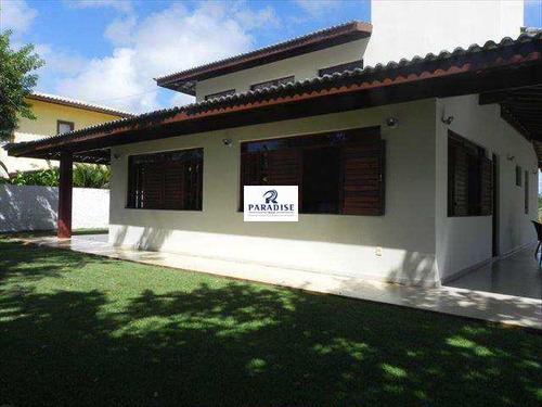 Imagem 1 de 30 de Casa Com 5 Dorms, Guarajuba, Camaçari - R$ 2.5 Mi, Cod: 61500 - V61500