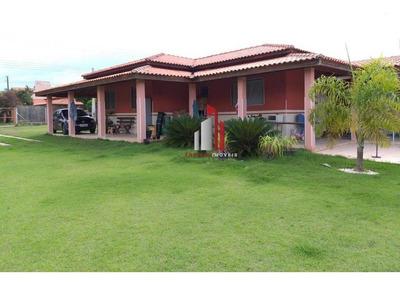 Chácara Com 2 Dormitórios À Venda, 1000 M² Por R$ 280.201,21 - Chácara Dos Pinhais - Boituva/sp - Ch0001