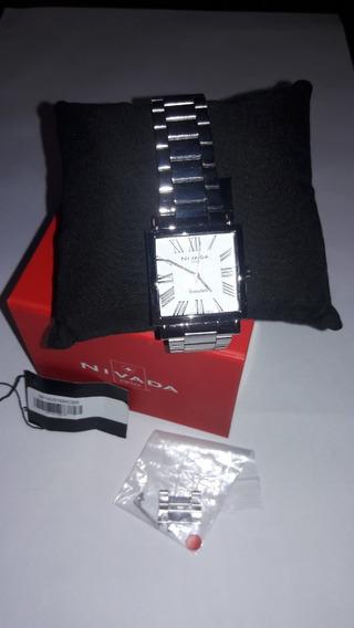 Reloj Nivada Caballero Np 16091macbr