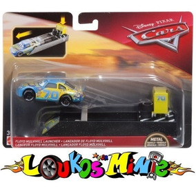 Disney Cars 3 Floyd Mulvihill #70 Gasprin C/ Lançador