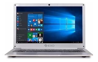Notebook Exo Smart E16 Plus 4gb Ssd32gb Win10 Hdmi + Luz Led