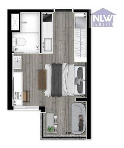 Imagem 1 de 6 de Studio Com 1 Dormitório À Venda, 21 M² Por R$ 438.603,92 - Vila Madalena - São Paulo/sp - St0096