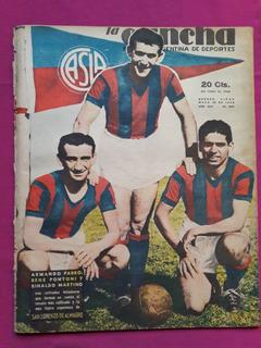 Revista La Cancha N° 888 - Farro Pontoni Martino San Lorenzo