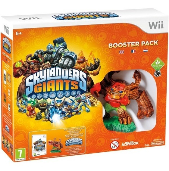 Box Skylanders Giants - Expansion Pack + Kit Characters Wii