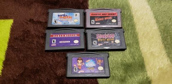Lote De Juegos Game Boy Advance, Banjo, Mario Bros