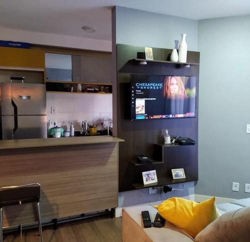 Apartamento Com 2 Dormitórios À Venda, 55 M² Por R$ 350.000 - Vila Prudente - São Paulo/sp - Ap5750