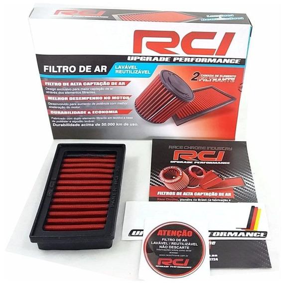 Filtro De Ar Esportivo In-box Bmw Vermelho - Race Chrome