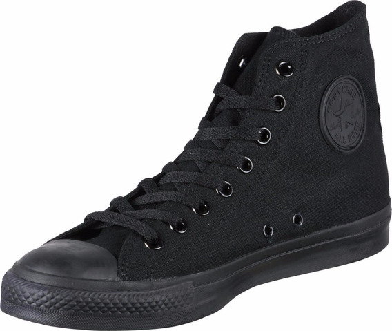 Botitas Converse All Star !!! Negro Negro! 100% Original!