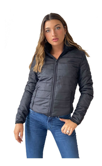 Campera Inflable Con Capucha Park- Kout Mujer