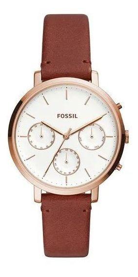 Relógio Fossil Sylvia Rosé Feminino Es4434/0mn