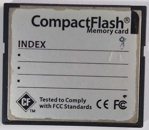 Imagem 1 de 2 de Cartão Memória Compact Flash Cf 8gb Media S. Ultra 80mb/s