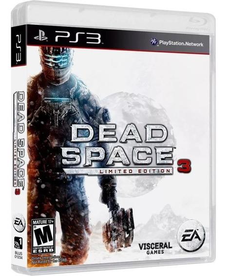 Dead Space 3 - Playstation 3 Ps3 Novo Lacrado Mídia Física
