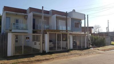 Casa Em Morada Do Vale Iii Com 2 Dormitórios - Rg4116