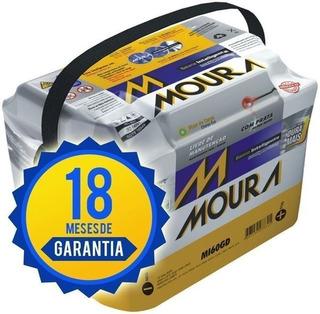 Batería Auto Moura 12x75 Nafta Gnc Diesel Envío A Domicilio