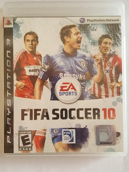 Fifa Soccer 10 Ps3 Original Midia Fisica Usado