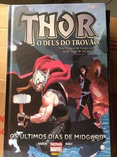 Thor Loki X-men Aranha Lote Com 4 Hq Capa Dura