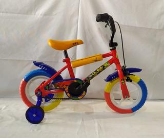 Bicicleta Infantil Rodado 12 Niño Baiking