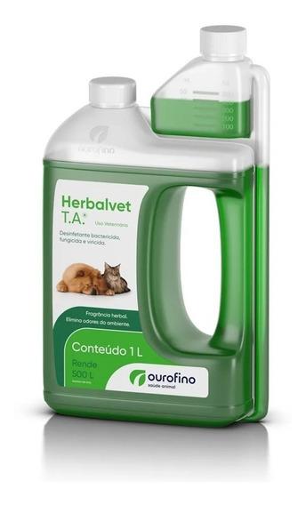 Herbalvet 1litro Ourofino (nova Embalagem)