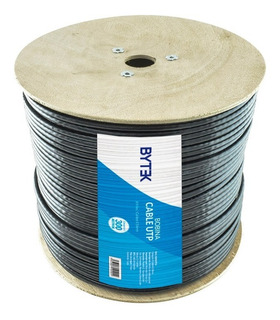 Bobina De Cable Utp Red Cat6e Exterior Blindado Doble Forro
