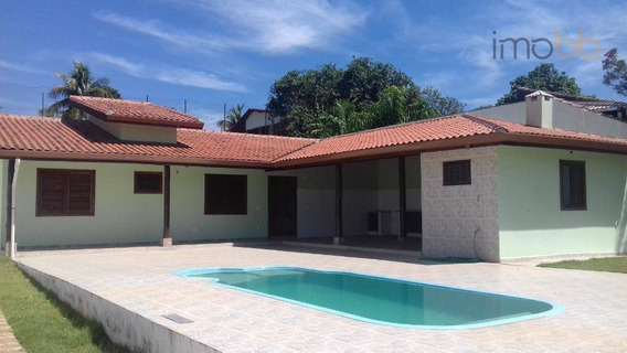 Chácara Com 2 Dormitórios, Piscina, Para Venda E Locação, 2000 M² Por R$ 2.000/mês - Santa Inês - Itu/sp - Ch0190