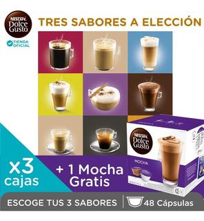 Nescafe® Dolce Gusto 3 Sabores A Tu Elección