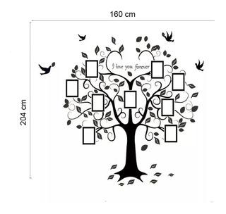 Adesivo Decorativo Árvore Genealógica Fotos Da Família