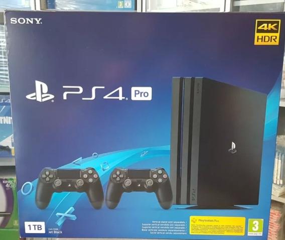 Sony Ps4 Pro 4k Playstation 4 Pro 1 Tb 2 Dualshock
