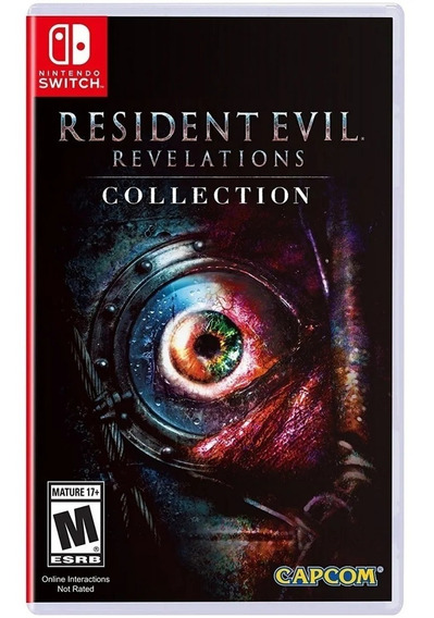 Resident Evil: Revelations Collection Switch Mídia Física