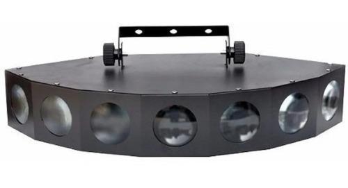 Imagen 1 de 5 de Efecto Led Pls Seven Eyes 10 Canales Dmx Audioritmico