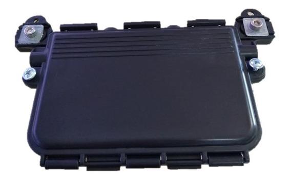 Mini Caixa Para Emenda De 2 Á 12 Fibras (1 Unid.) - Preta