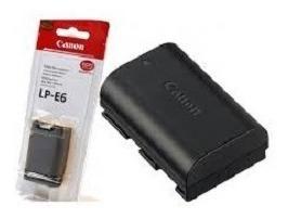 Bateria Lp-e6 Para Canon Eos 60d 60da 70d 80d Xc10