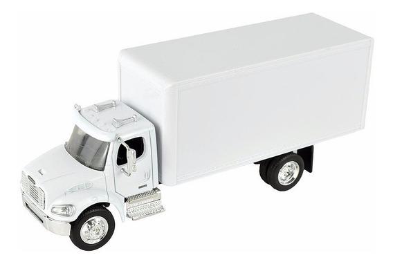 Freightliner M2 Torton Caja Seca Blanco New Ray Escala 1:43