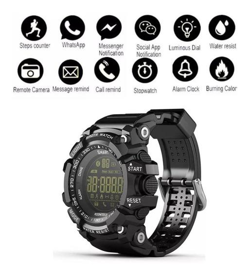 Relógio Militar Multifunções Digital Lokmat Ex16 Original