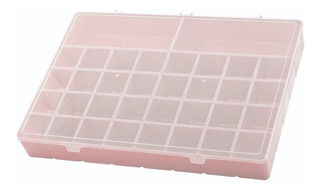 Box Organizador Plus Caixa Divisórias Estojo Maleta Plástico