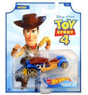Hot Wheels Toy Story 4 Woody Mattel Disney Pixar