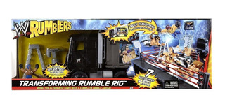 Mc Mad Car W Rumblers Lucha Libre Wwf Camion Truck Misterio